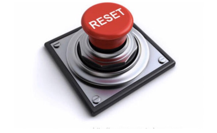 Pressing the reset button with Something new!